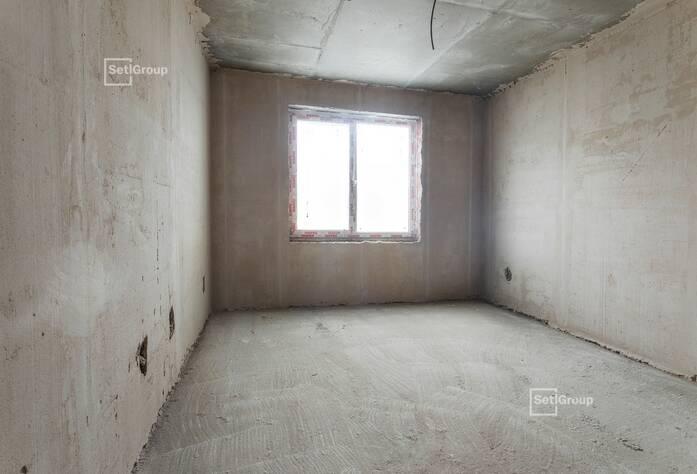 Завершены работы по устройству каменной кладки стен и перегородок 5 этажа.