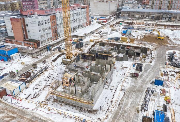 Завершен демонтаж надземной части зданий.