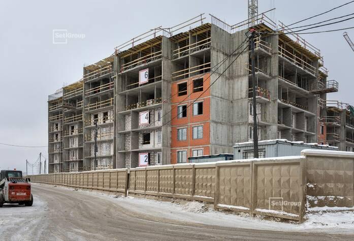 Продолжаются работы по устройству железобетонных конструкций 6-8 этажей.