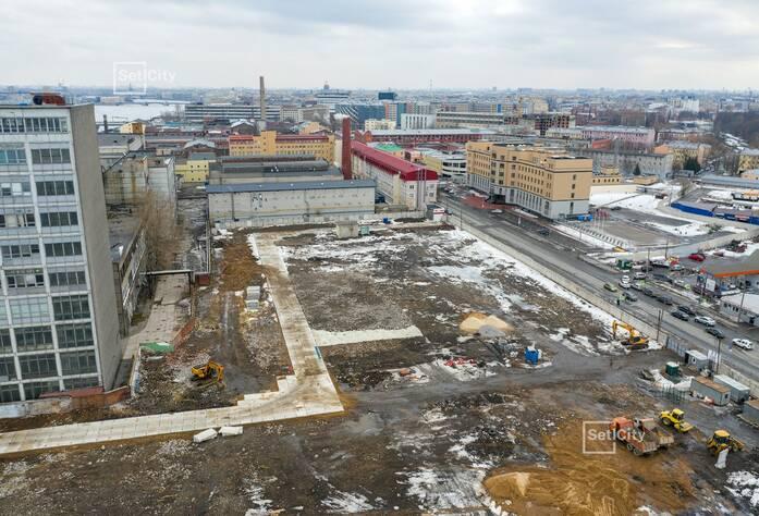Близки к окончанию работы по демонтажу существующих зданий и сооружений.