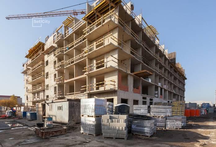Завершены работы по устройству 5 и 6 этажей.