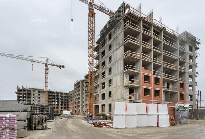 Закончены работы по монтажу стен 6-8 этажей.
