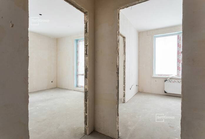 Закончены работы по монтажу системы отопления в квартирах.