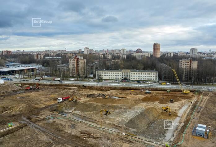 Произведен демонтаж подземных частей зданий и сооружений.