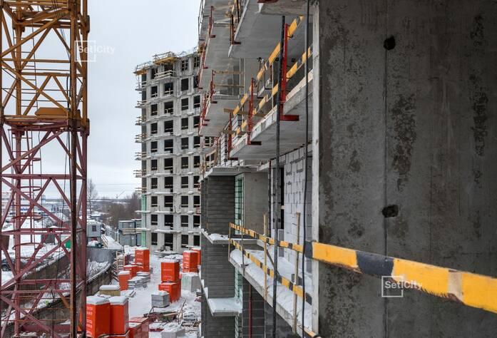 Завершены работы по устройству 10 этажа.