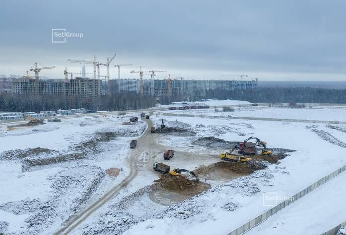 Ведутся работы по выполнению проекта организации строительства.