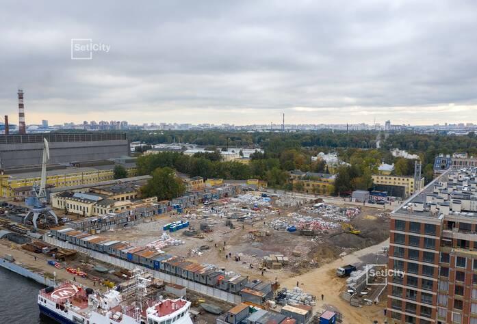 Завершены работы по организации строительной площадки.
