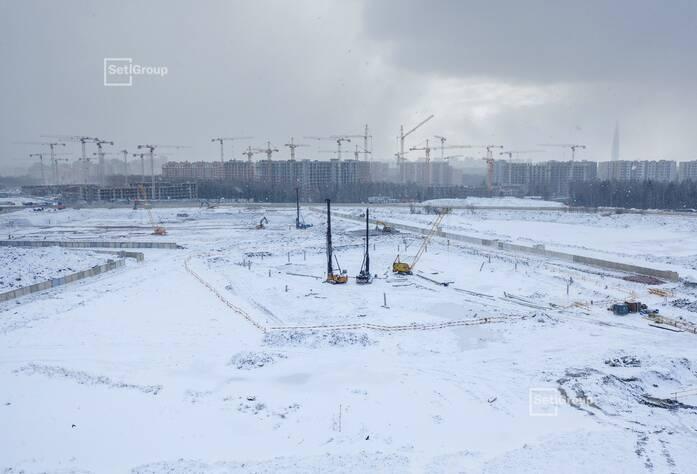 Осуществляются работы по выполнению проекта организации строительства.