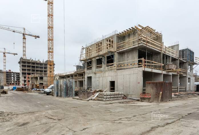 Закончены работы по монтажу стен 2 и 3 этажей.