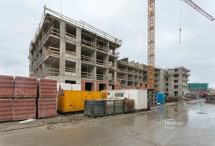 Закончены работы по монтажу стен 4-6 этажей.