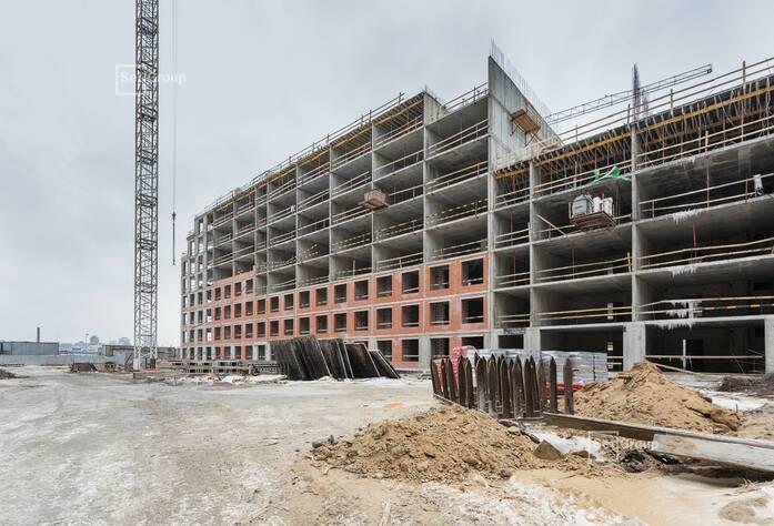 Завершены работы по устройству монолитных конструкций 4 и 5 этажей.