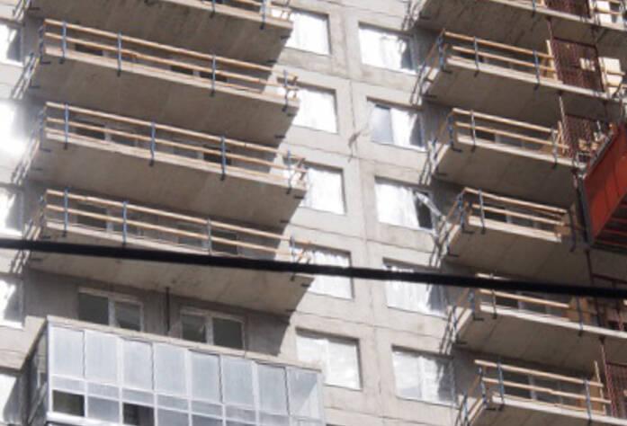 Строительство ЖК «Эланд» 1 очередь (15.04.2013)