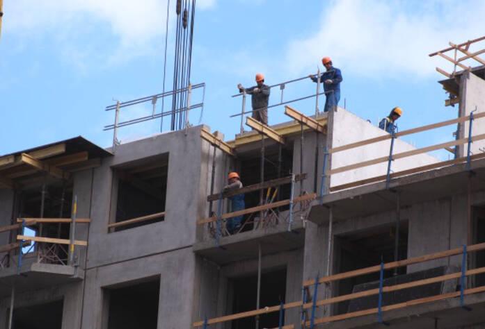 Строительство ЖК «Эланд» 2 очередь (15.04.2013)