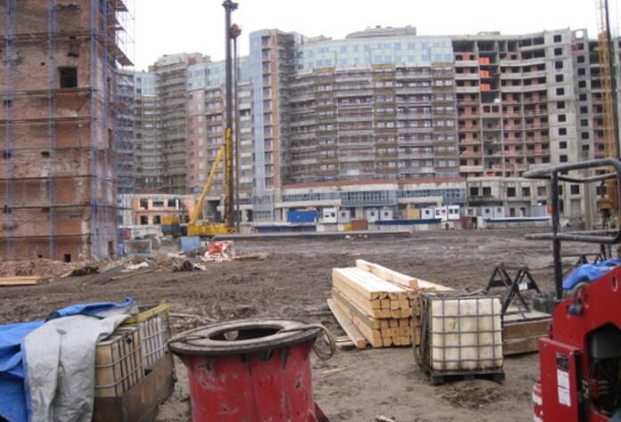 Строительство ЖК «Четыре горизонта»