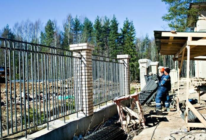 Строительство ЖК «Черничная поляна» I очередь (май 2013)