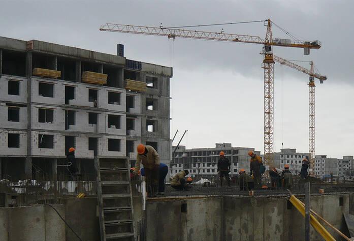 Строительство жилого комплекса «Юнтолово»