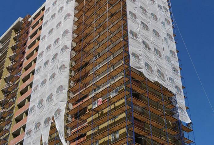 Строительство жилого комплекса «Ленинский парк» участок 6 корпус 9 (май 2013)