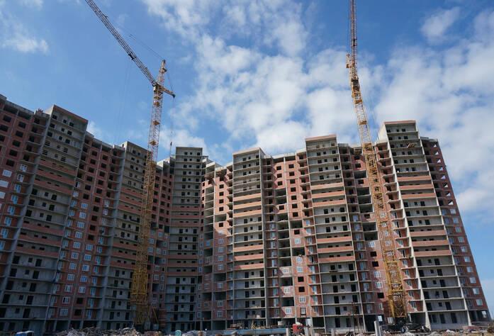 Строительство жилого комплекса «Ленинский парк» участок 6 секции 1-6 (май 2013)