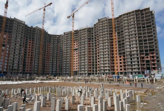 Строительство жилого комплекса «Ленинский парк» участок Строительство жилого комплекса «Ленинский парк» участок 7 корпус В (май 2013)7 корпус Б
