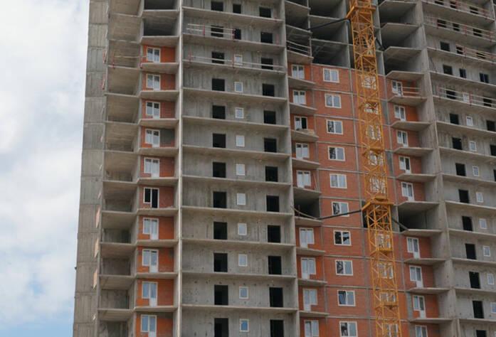 Строительство жилого комплекса «Ленинский парк» участок 7 секция 1 (май 2013)
