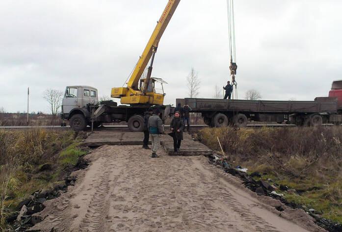 Строительство ЖК «Румболово Сити» (ноябрь 2012)