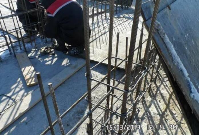 Строительство ЖК «Румболово Сити» (март 2013)