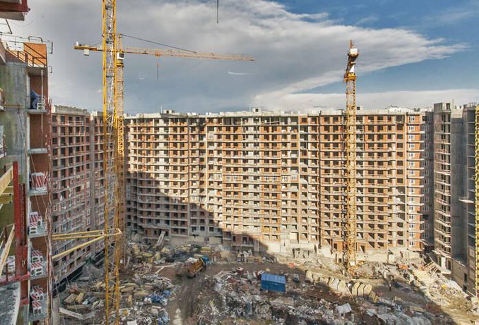 Строительство ЖК «RIO» (апрель 2013)