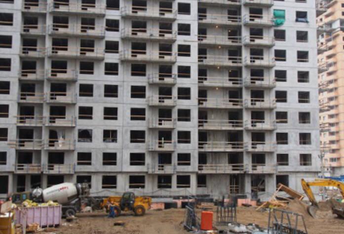 Строительство ЖК «Эланд» 2 очередь (15.05.2013)