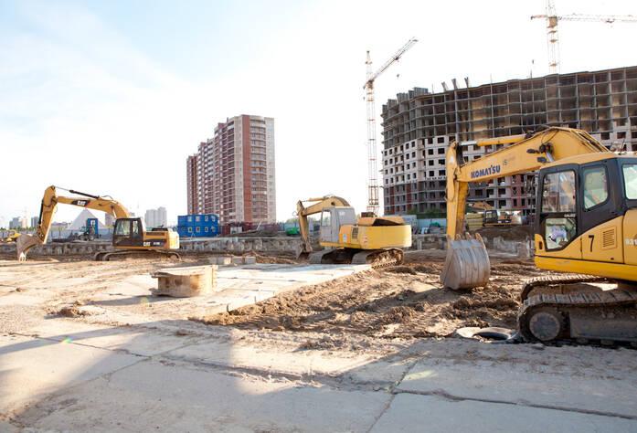 Строительство жилого квартала «Силы природы» (май 2013 г.)