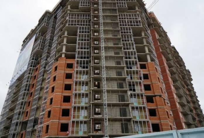Строительство жилого комплекса «Капитан Немо» (май 2013 г.)