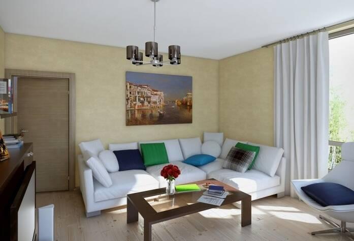 Вариант отделки квартиры в  ЖК «Сандэй»