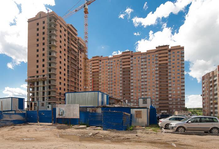 Строительство ЖК «Первомайский, поз.17» (17.06.2013 г.)