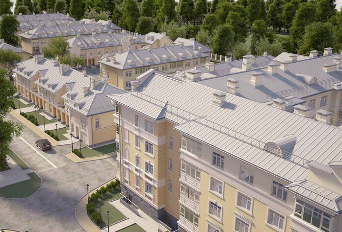 ЖК «Александровский» - будущий вид квартала