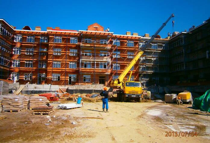 Строительство ЖК «Александровский» (от застройщика июль 2013 г.)