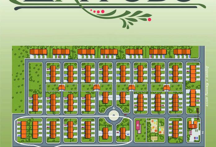 План коттеджного поселка «Шагрово»