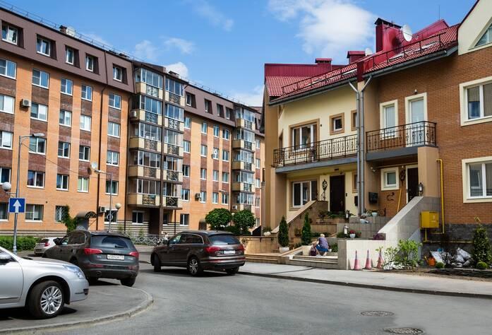 Жилой комплекс «Новая Скандинавия» (сентябрь 2013)