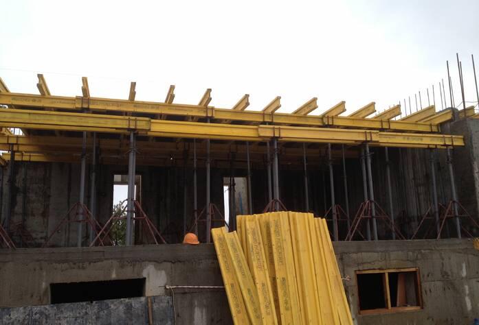 Строительство ЖК «Румболово Сити» (октябрь 2013)
