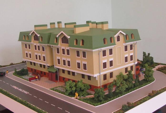 ЖК в Павловске (макет)