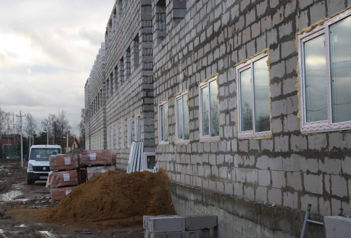 Строительство ЖК «Румболово Сити» (ноябрь 2013)
