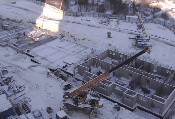 Строительство ЖК «Павловский»