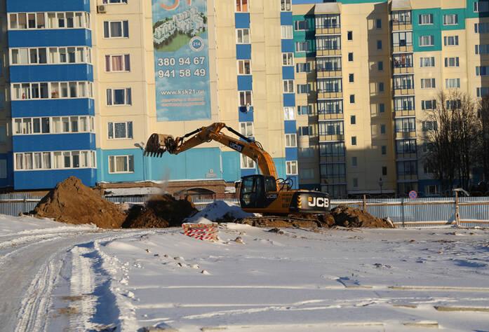 Строительство ЖК «Центральный»