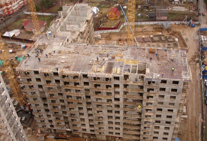 Строительство жилого комплекса «Эланд» (III очередь)