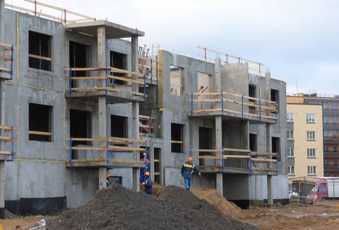 Строительство ЖК Gröna Lund (декабрь 2013)