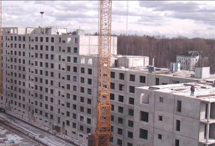 Строительство ЖК «Павловский» (01.04.2014 г.)