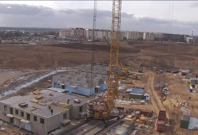 Строительство ЖК «Центральный» (01.04.2014 г.)