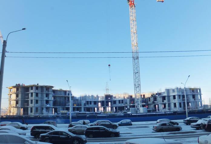 Ход строительства ЖК «Бумеранг» (20.03.2014 г.)