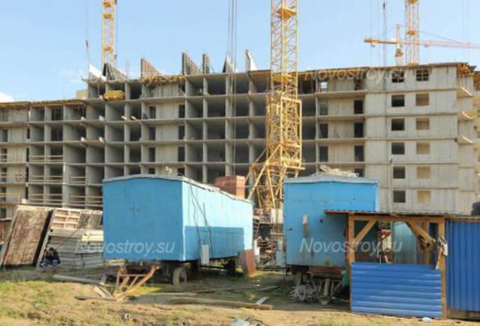Строительство ЖК «Подкова» (20.06.2013 г.)