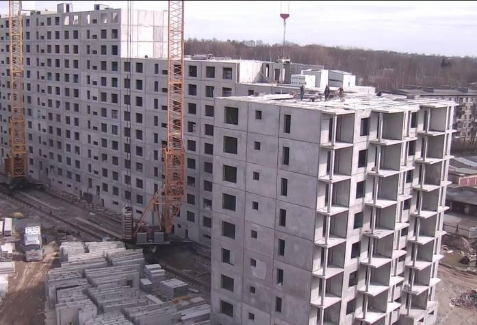 Строительство ЖК «Павловский» (15.04.2014 г.)