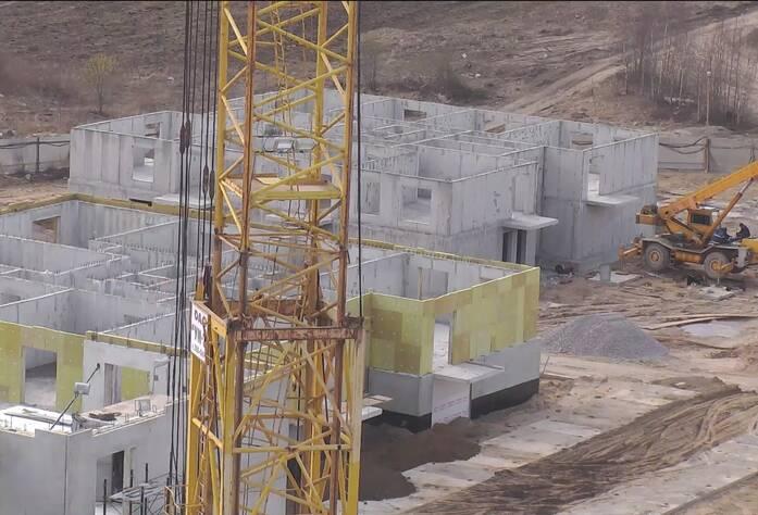 Строительство ЖК «Центральный» (15.04.2014 г.)
