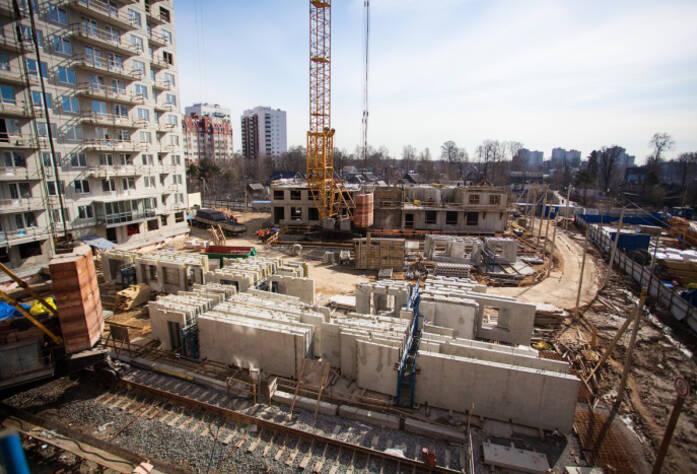 4 очередь жилого комплекса «Эланд» (15.04.2014)